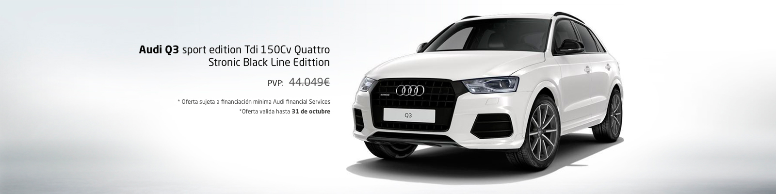 Oferta nuevo Audi Q3