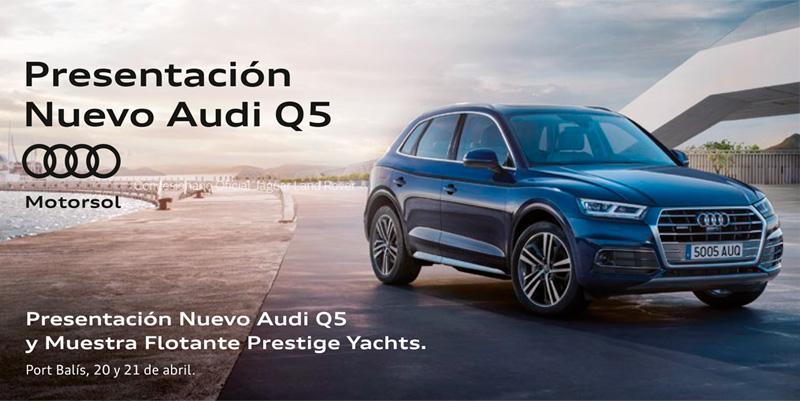 Presentamos el nuevo Audi Q5 en Port Balís