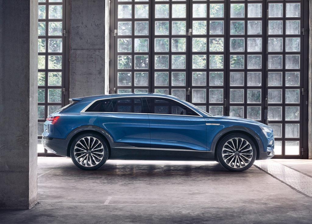 Audi e-tron quattro, el primer Audi totalmente eléctrico