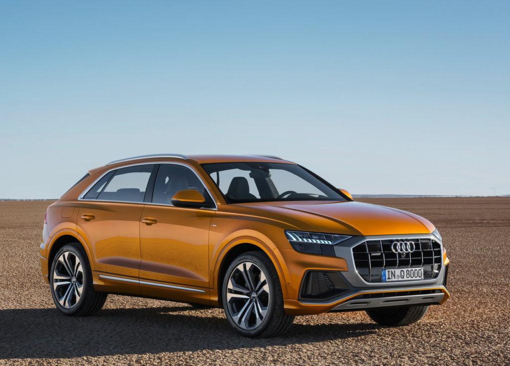 Audi Q8, un nuevo SUV con microhibridación y mucha tecnología
