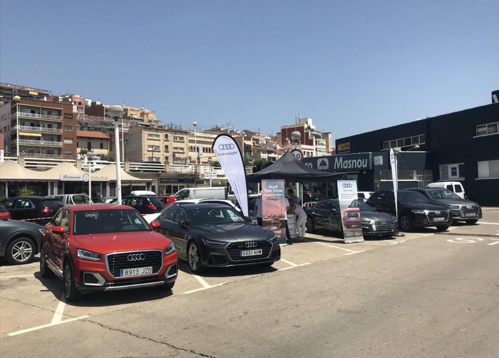 Motorsol Audi y Stay Náutica organizan un Test Drive en El Masnou