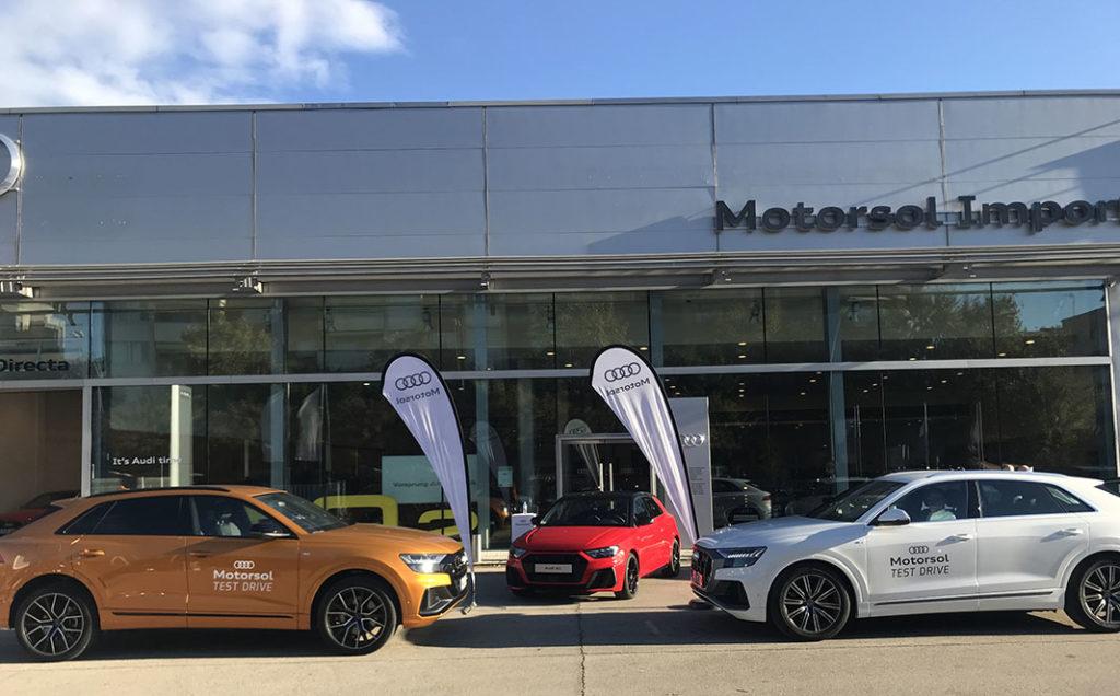 Gran éxito de los Test Drive organizados por Motorsol Audi