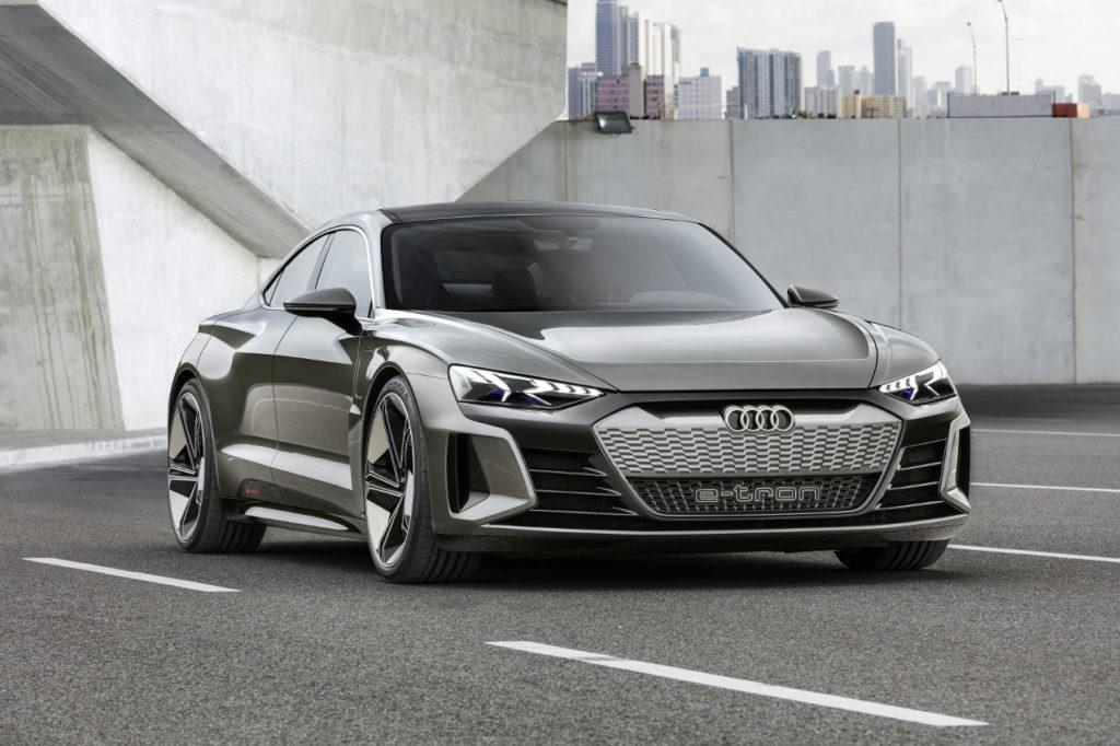 Audi e-tron GT Concept, el eléctrico más deportivo