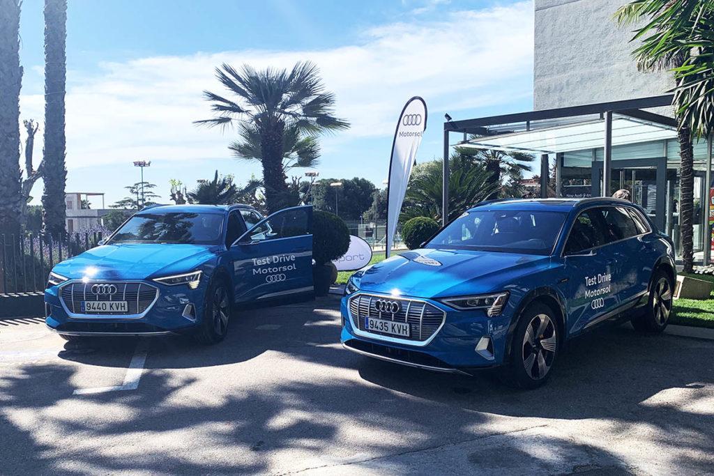 Éxito del Test Drive del Audi e-tron en Bonasport