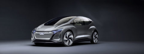 Audi presenta AI:ME:, un prototipo de movilidad urbana