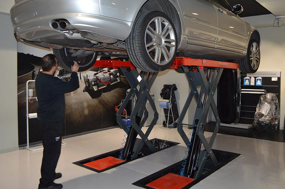 Audi Service Motorsol en Sarrià, taller especializado en modelos S y RS