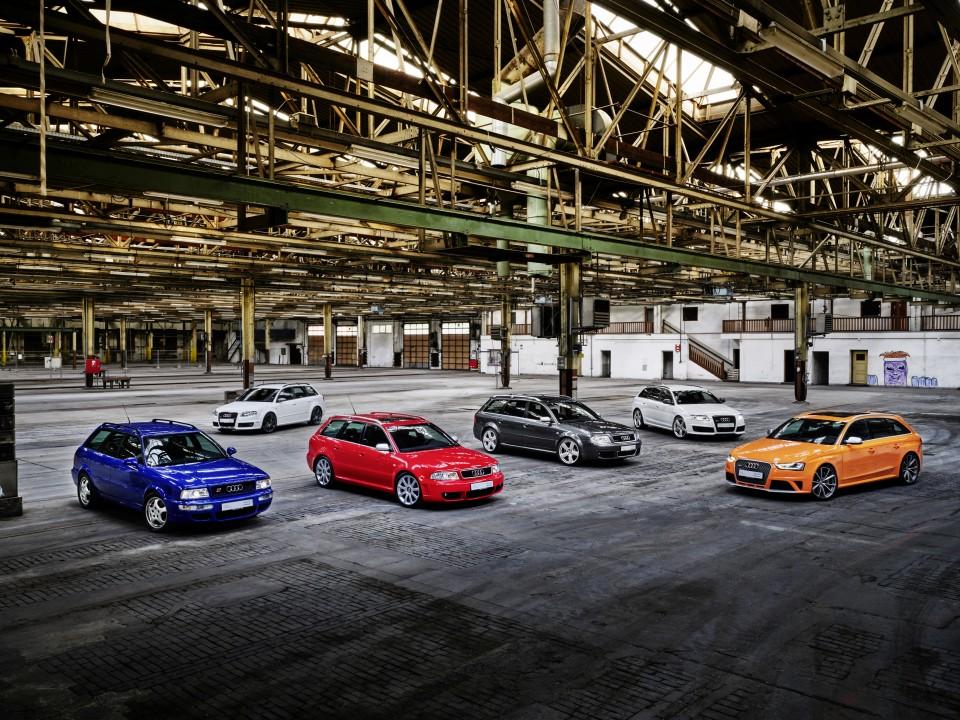 La célebre saga Audi RS cumple 25 años