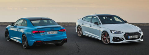Nuevos Audi RS5 Coupé y Sportback, rendimiento sin límites