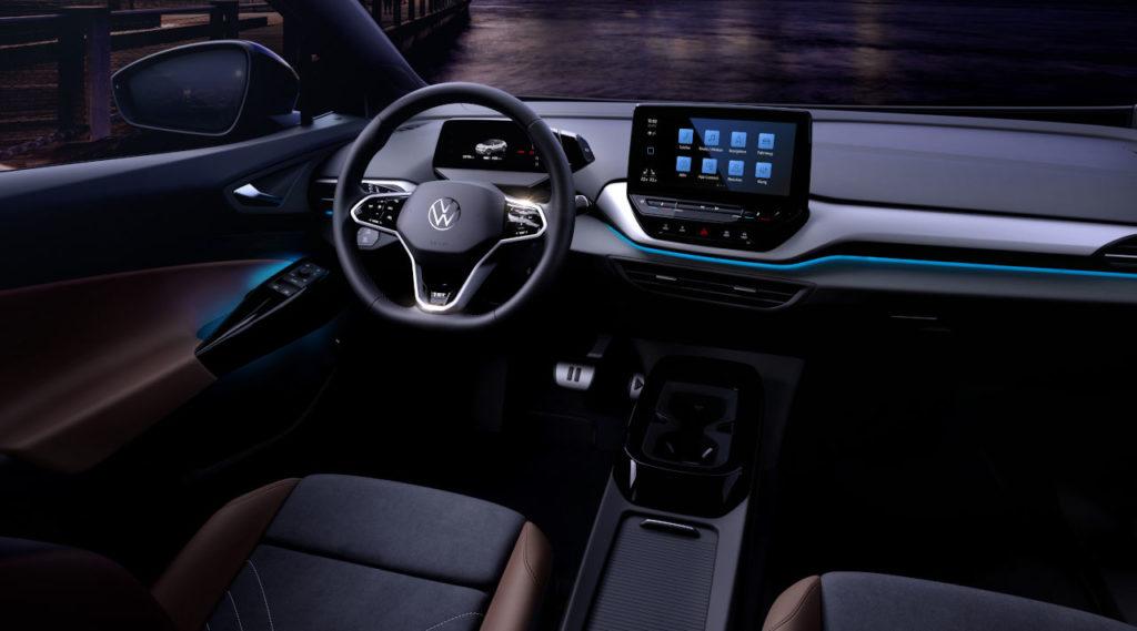 Así es el sorprendente interior del nuevo Volkswagen ID.4