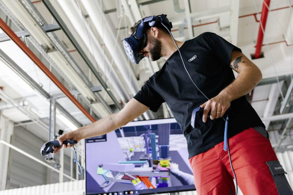 Planificación digital en la producción del Audi e-tron GT