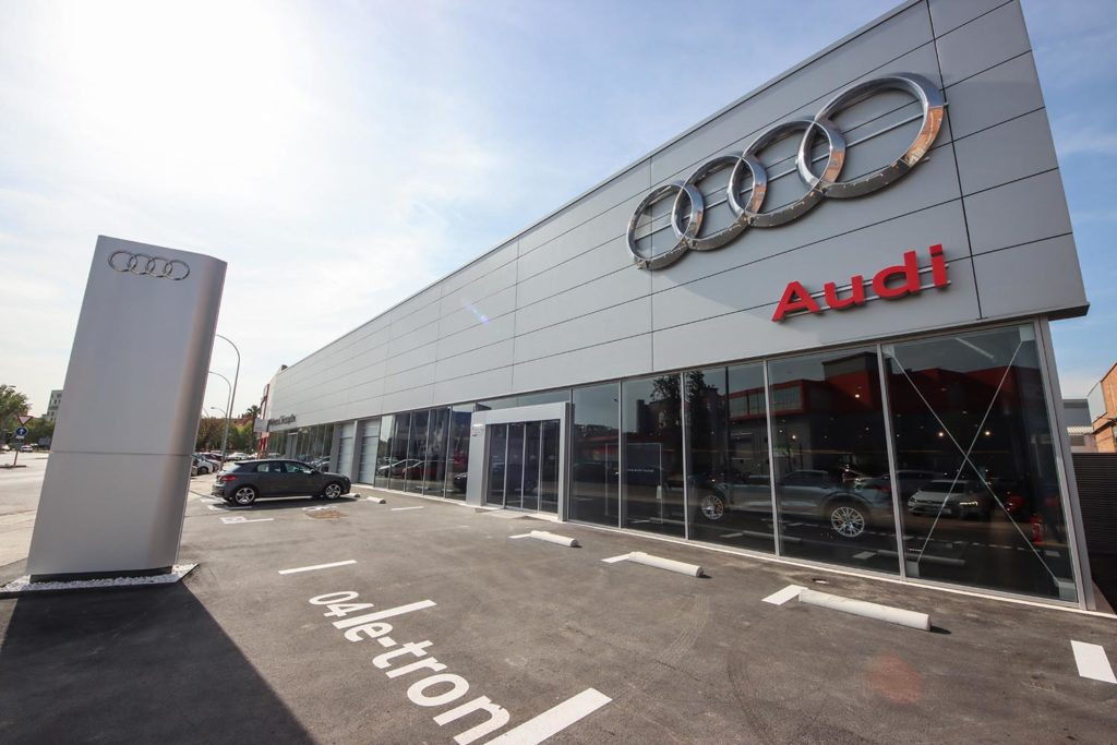 Nuevo centro de Motorsol Audi en Sant Boi de Llobregat
