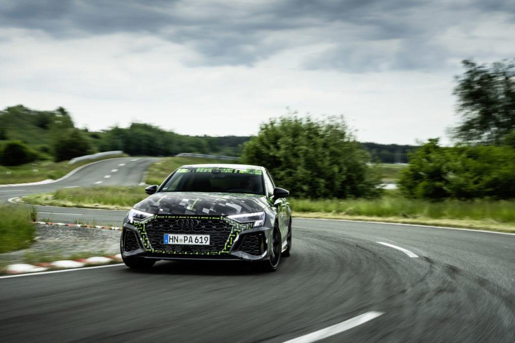 Nuevo sistema RS Torque Splitter de Audi: un gran salto hacia la conducción más ágil